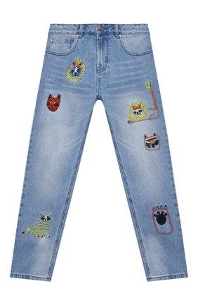 Детские джинсы STELLA MCCARTNEY синего цвета, арт. 602320/SQK17 | Фото 1