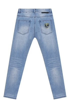 Детские джинсы STELLA MCCARTNEY синего цвета, арт. 602320/SQK17 | Фото 2