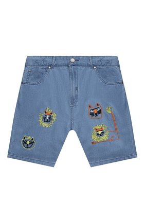 Детские джинсовые шорты STELLA MCCARTNEY синего цвета, арт. 602315/SQK16 | Фото 1