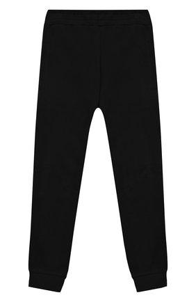 Детские хлопковые джоггеры STELLA MCCARTNEY черного цвета, арт. 602262/SQJ81 | Фото 1