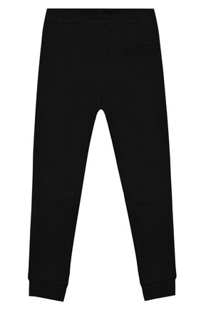 Детские хлопковые джоггеры STELLA MCCARTNEY черного цвета, арт. 602262/SQJ81 | Фото 2