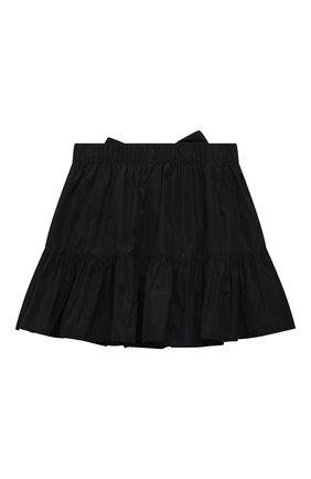 Детская юбка MSGM KIDS черного цвета, арт. MS026936 | Фото 2
