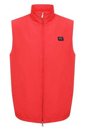 Мужской жилет PAUL&SHARK красного цвета, арт. 21412001/DC | Фото 1