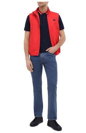 Мужской жилет PAUL&SHARK красного цвета, арт. 21412001/DC | Фото 2