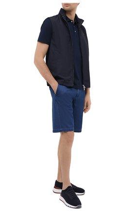 Мужской жилет PAUL&SHARK темно-синего цвета, арт. 21412001/DC   Фото 2