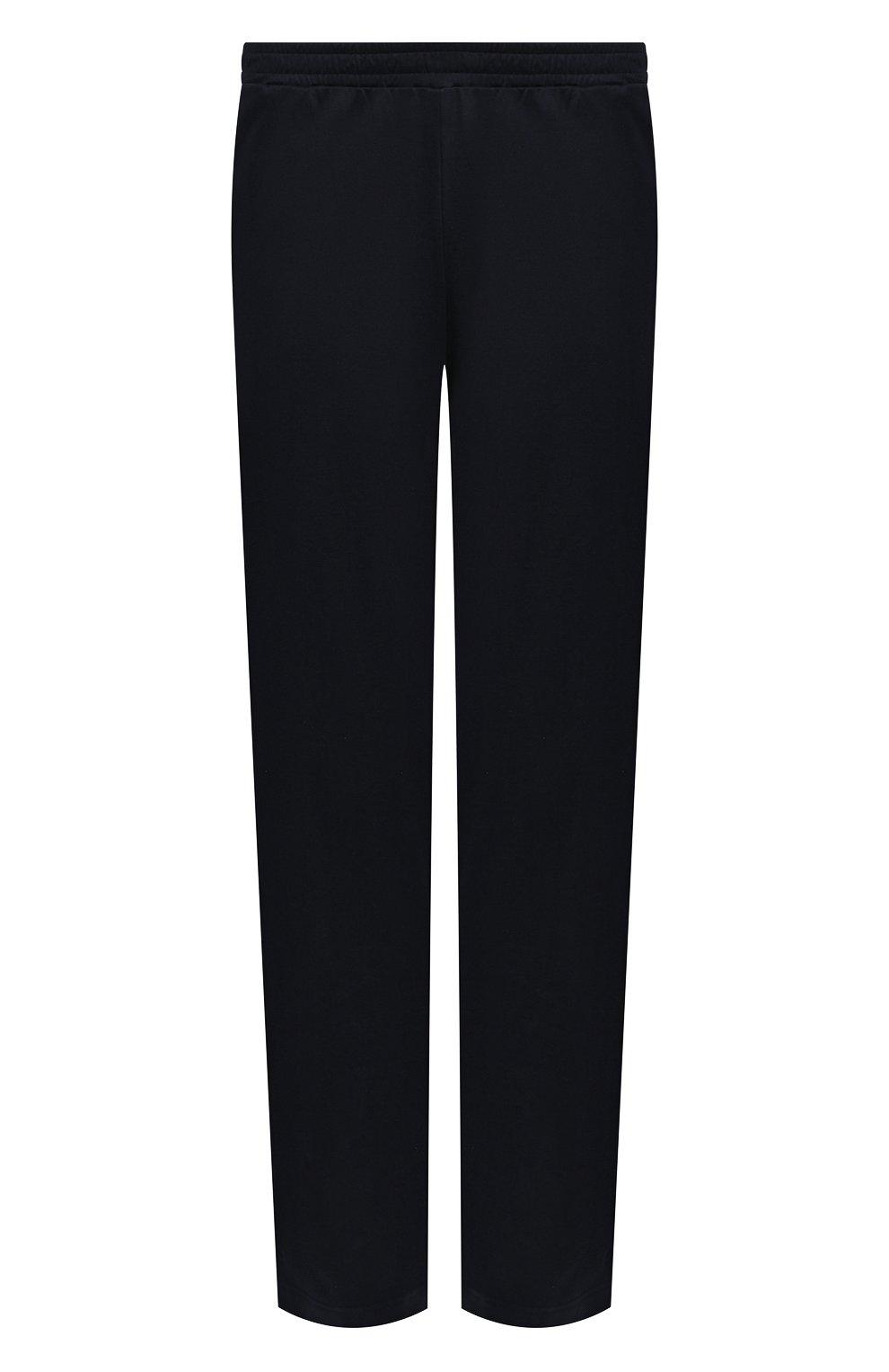 Мужские хлопковые домашние брюки ZIMMERLI темно-синего цвета, арт. 3460-95304 | Фото 1 (Длина (брюки, джинсы): Стандартные; Кросс-КТ: домашняя одежда; Мужское Кросс-КТ: Брюки-белье; Материал внешний: Хлопок)