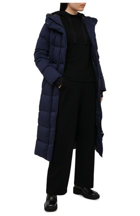 Женский пуховик alliston CANADA GOOSE темно-синего цвета, арт. 5088L | Фото 2