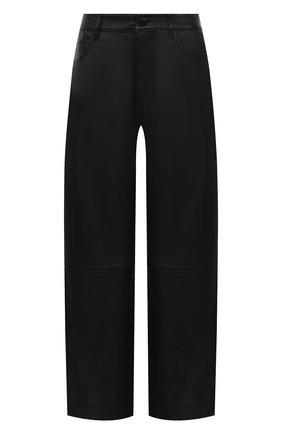 Женские кожаные брюки WINDSOR черного цвета, арт. 52 DL502 10011008 | Фото 1