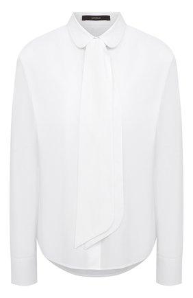Женская хлопковая рубашка WINDSOR белого цвета, арт. 52 DB520H 10011495 | Фото 1