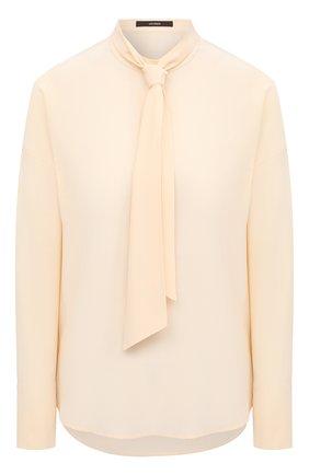 Женская шелковая блузка WINDSOR бежевого цвета, арт. 52 DB532H 10011480 | Фото 1