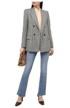 Женская шелковая блузка WINDSOR бежевого цвета, арт. 52 DB532H 10011480 | Фото 2
