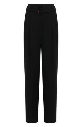 Женские шерстяные брюки WINDSOR черного цвета, арт. 52 DH533 10011409 | Фото 1
