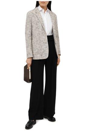 Женские шерстяные брюки WINDSOR черного цвета, арт. 52 DH533 10011409 | Фото 2