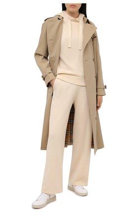 Женские шерстяные брюки WINDSOR бежевого цвета, арт. 52 DH570H 10011729 | Фото 2