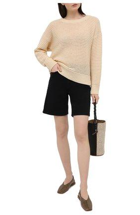 Женский кашемировый пуловер WINDSOR бежевого цвета, арт. 52 DP515 10000805 | Фото 2