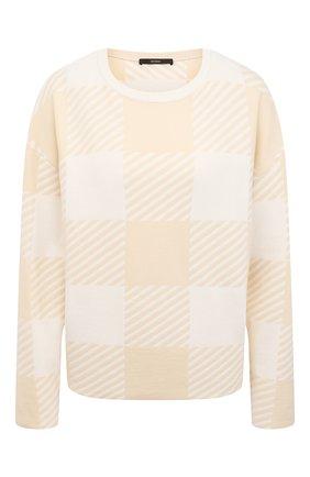 Женский шерстяной пуловер WINDSOR светло-бежевого цвета, арт. 52 DP520 10011839 | Фото 1