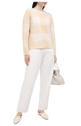Женский шерстяной пуловер WINDSOR светло-бежевого цвета, арт. 52 DP520 10011839 | Фото 2