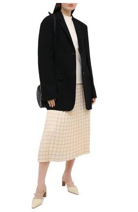Женская плиссированная юбка WINDSOR светло-бежевого цвета, арт. 52 DR522H 10011825 | Фото 2