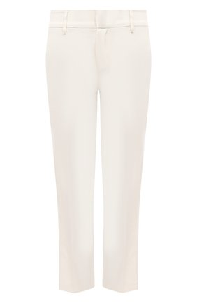 Женские брюки из вискозы и шерсти REDVALENTINO белого цвета, арт. VR3RBD45/WBP | Фото 1