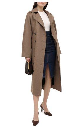 Женский хлопковый пуловер POLO RALPH LAUREN кремвого цвета, арт. 211784760 | Фото 2