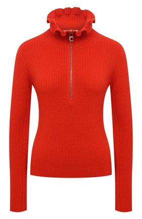 Женский пуловер из шерсти и кашемира CHLOÉ красного цвета, арт. CHC21SMP85510 | Фото 1