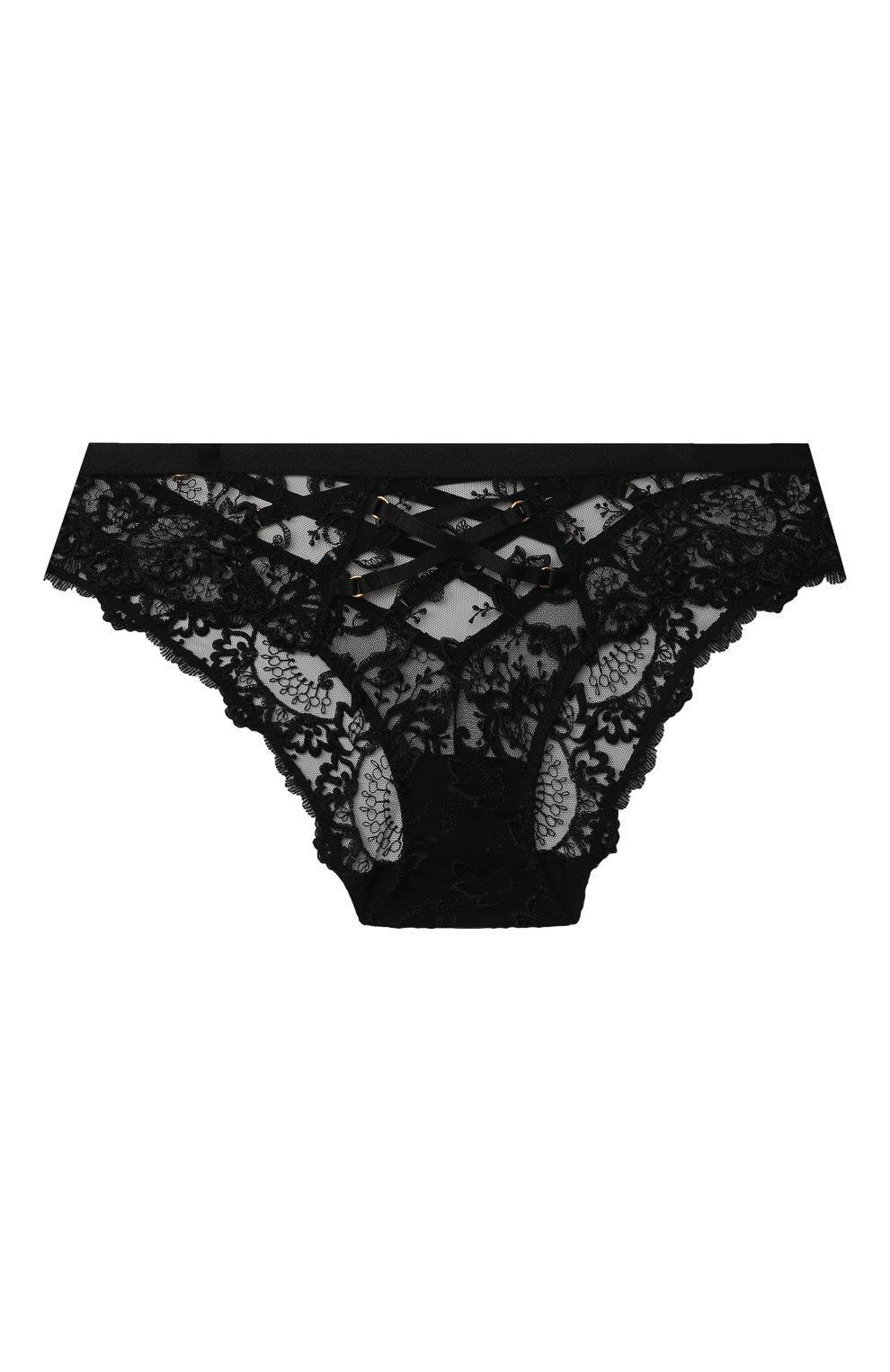 Женские трусы-слипы AUBADE черного цвета, арт. QE27   Фото 1