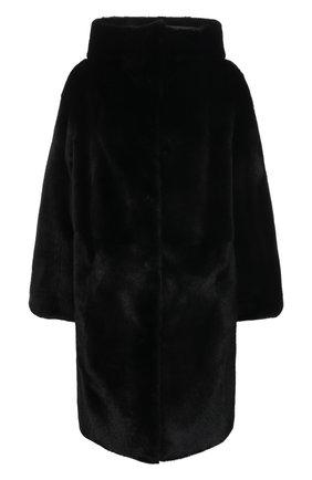 Женская шуба из меха норки KUSSENKOVV черного цвета, арт. 702800002556 | Фото 1