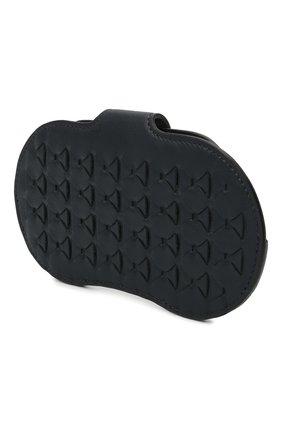 Мужской кожаный футляр для очков SERAPIAN темно-синего цвета, арт. SRM0SMSL715916A | Фото 2