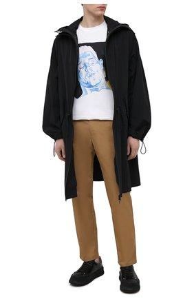 Мужская хлопковая футболка j.w. anderson x pol anglada JW ANDERSON белого цвета, арт. JT0016 PG0079 | Фото 2