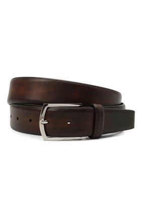 Мужской кожаный ремень BARRETT коричневого цвета, арт. 31B336.44/C0RSAR0 | Фото 1