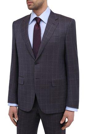 Мужской шерстяной костюм CANALI темно-синего цвета, арт. 11280/10/BF00480   Фото 2