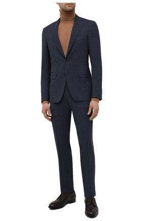 Мужской шерстяной костюм CANALI темно-синего цвета, арт. 25280/50/AR03173   Фото 1