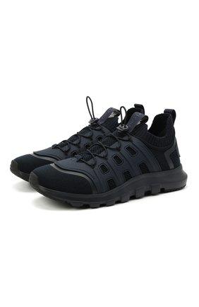Мужские текстильные кроссовки sock 2.0 Z ZEGNA темно-синего цвета, арт. A4917X-LHTPU | Фото 1 (Подошва: Массивная; Материал внешний: Текстиль; Материал внутренний: Текстиль; Стили: Спорт)