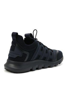Мужские текстильные кроссовки sock 2.0 Z ZEGNA темно-синего цвета, арт. A4917X-LHTPU   Фото 4 (Материал внешний: Текстиль; Материал внутренний: Текстиль; Подошва: Массивная; Стили: Спорт)