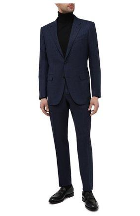 Мужские кожаные лоферы ZEGNA COUTURE черного цвета, арт. A4505X-LHB0C | Фото 2