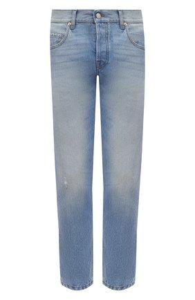 Мужские джинсы GUCCI синего цвета, арт. 408637/XDBK7 | Фото 1