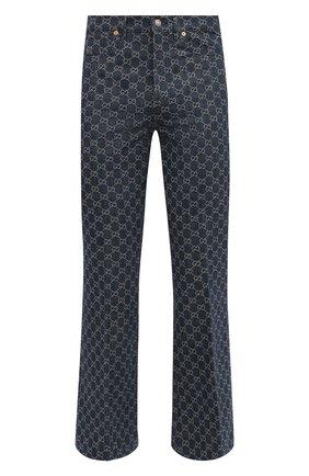 Мужские джинсы GUCCI синего цвета, арт. 649089/XDBK1 | Фото 1