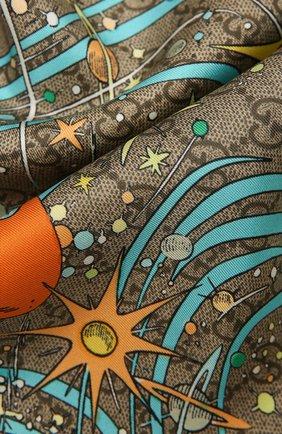 Шелковый шарф Disney x Gucci | Фото №2
