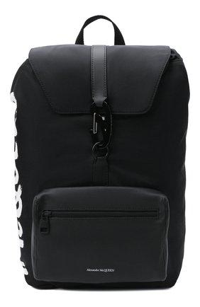 Мужской текстильный рюкзак ALEXANDER MCQUEEN черного цвета, арт. 601374/HWC2B | Фото 1