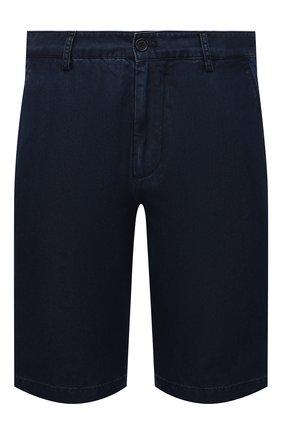 Мужские джинсовые шорты PAUL&SHARK темно-синего цвета, арт. 21414203/FIW | Фото 1
