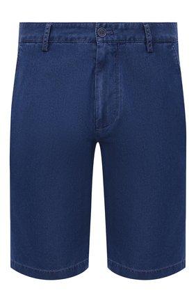 Мужские джинсовые шорты PAUL&SHARK голубого цвета, арт. 21414203/FIW   Фото 1