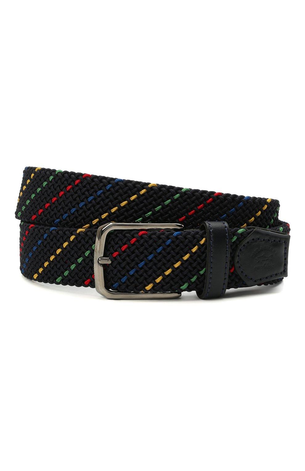 Мужской текстильный ремень PAUL&SHARK разноцветного цвета, арт. 21416032/H0A | Фото 1