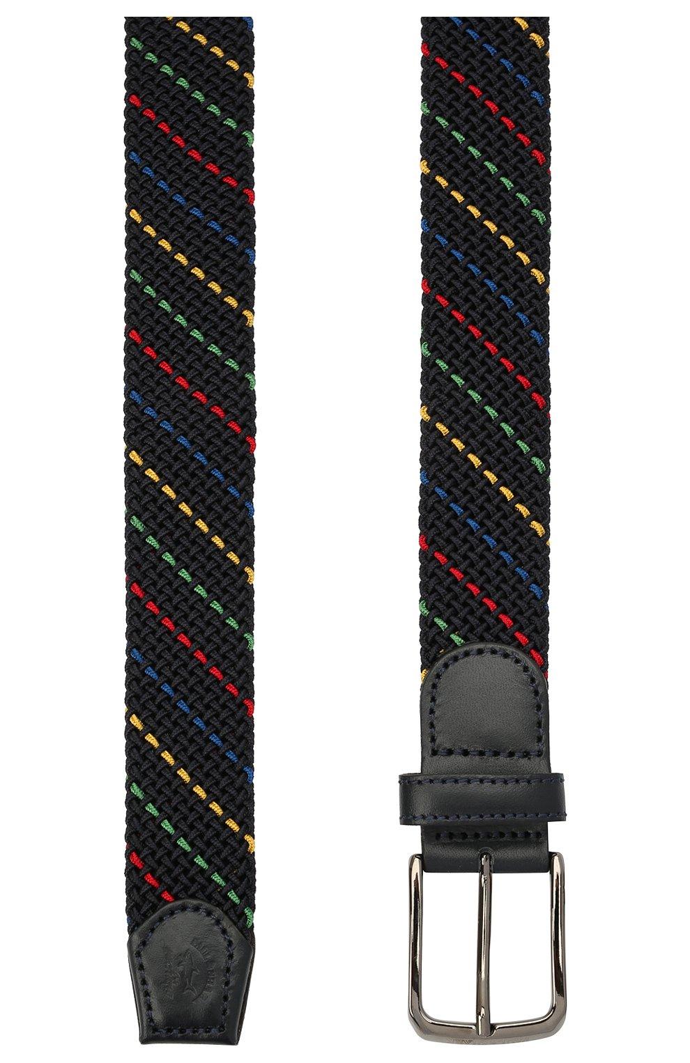 Мужской текстильный ремень PAUL&SHARK разноцветного цвета, арт. 21416032/H0A | Фото 2