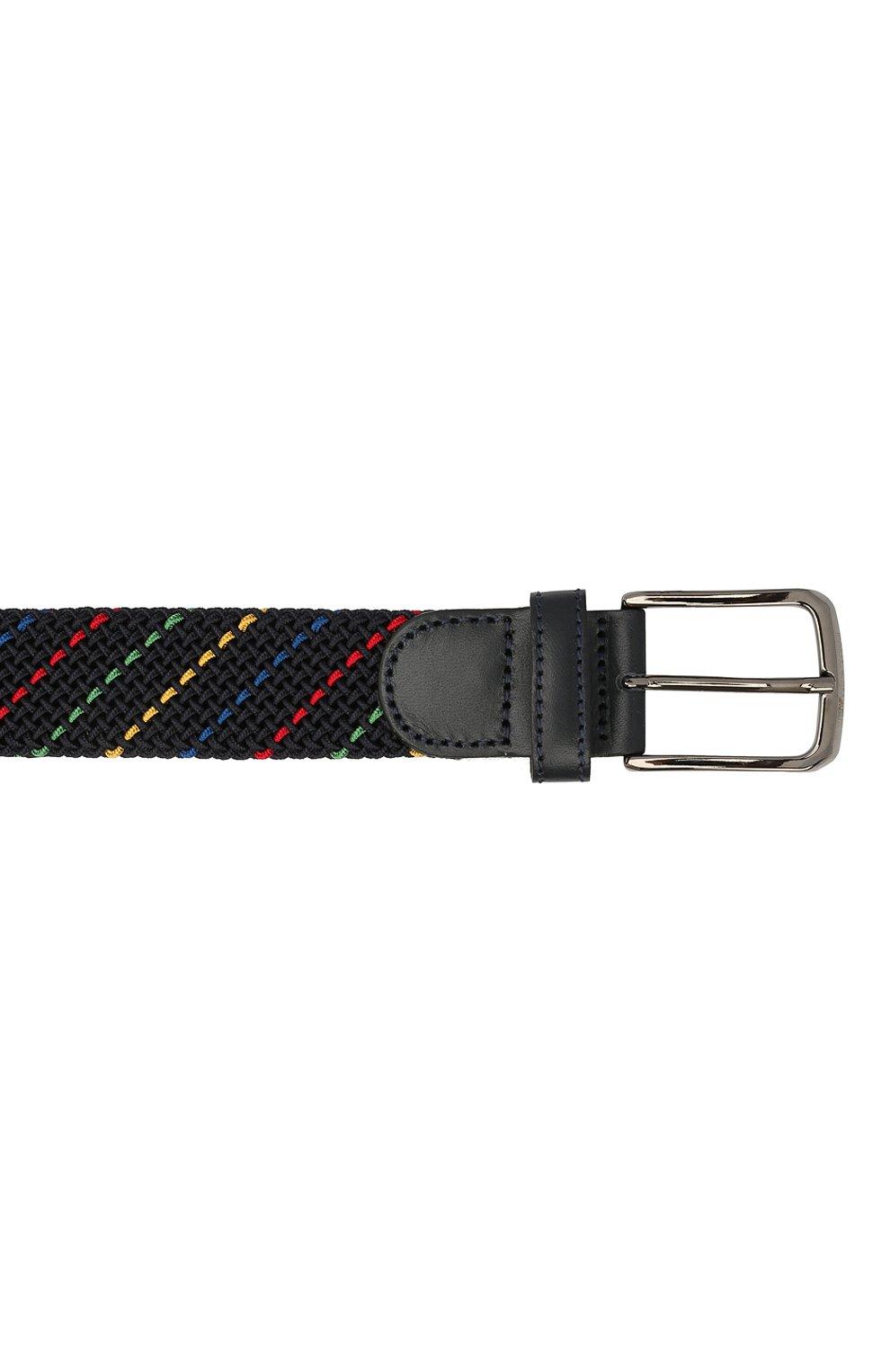 Мужской текстильный ремень PAUL&SHARK разноцветного цвета, арт. 21416032/H0A | Фото 3