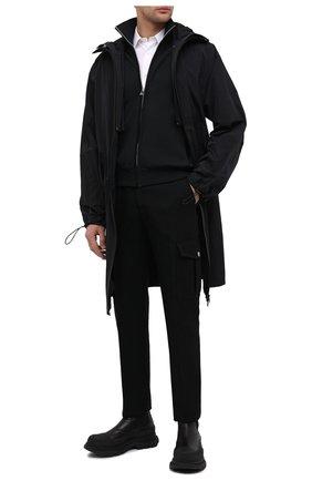 Мужские кожаные челси ALEXANDER MCQUEEN черного цвета, арт. 634617/WHZ61 | Фото 2