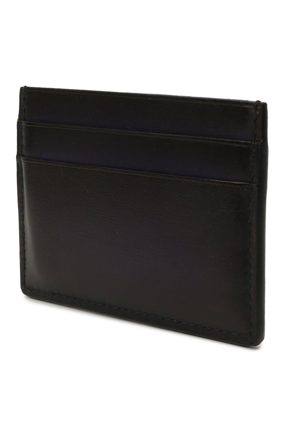 Мужской кожаный футляр для кредитных карт BERLUTI темно-синего цвета, арт. N214777 | Фото 2