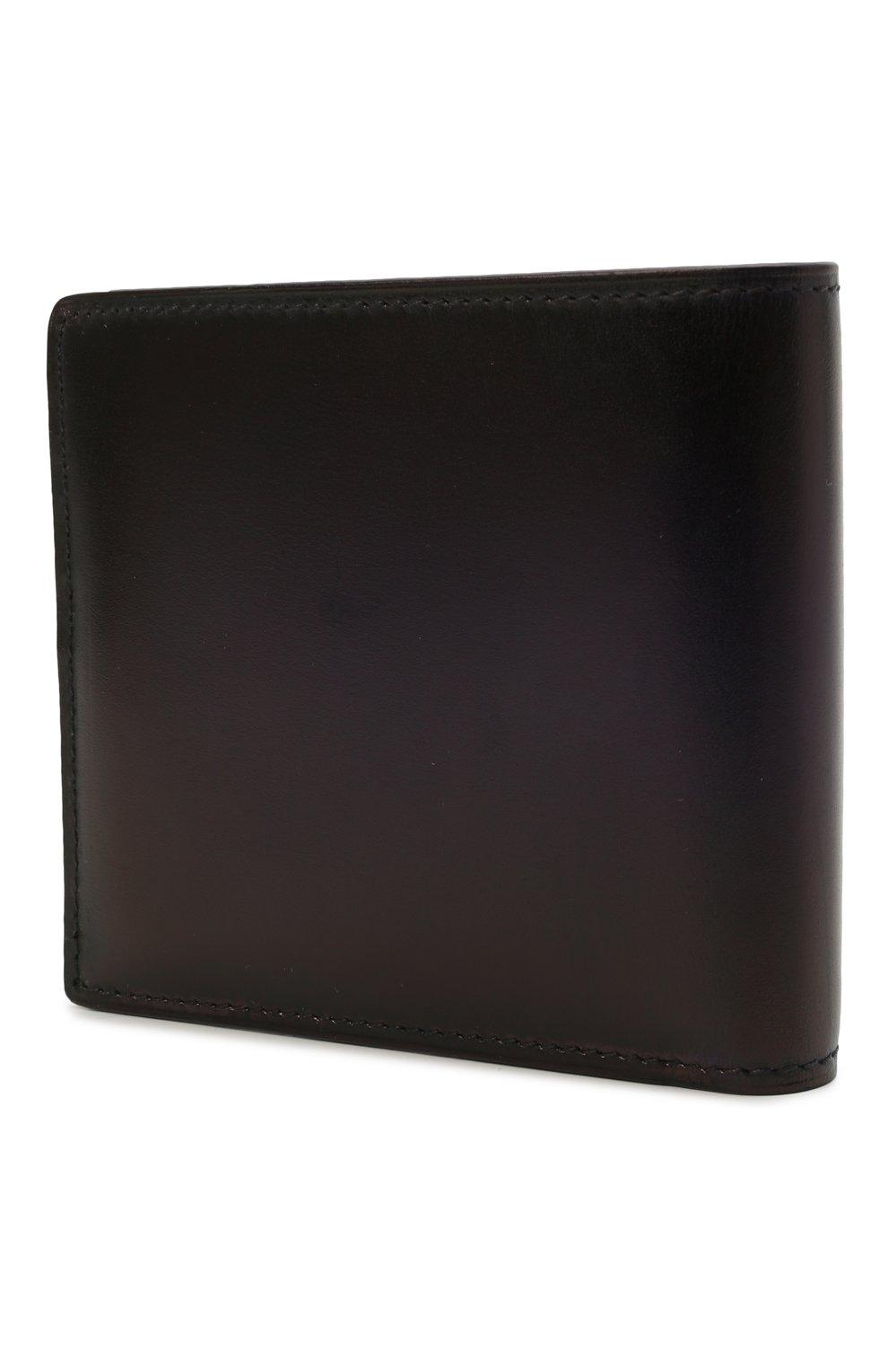 Мужской кожаное портмоне BERLUTI темно-синего цвета, арт. N214779 | Фото 2