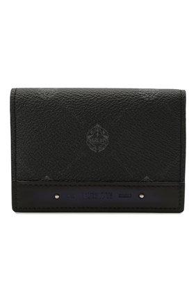 Мужской футляр для кредитных карт BERLUTI черного цвета, арт. N214789 | Фото 1