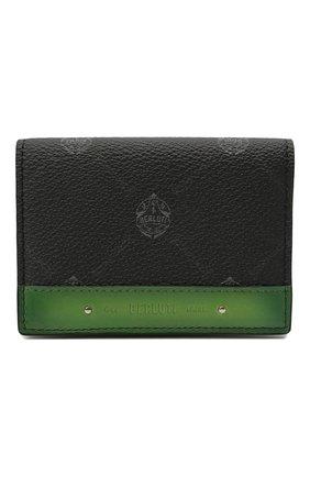 Мужской футляр для кредитных карт BERLUTI черного цвета, арт. N214790 | Фото 1
