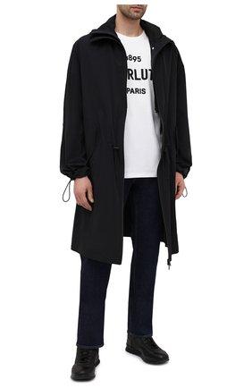 Мужские джинсы BERLUTI темно-синего цвета, арт. R19TDU39-001   Фото 2